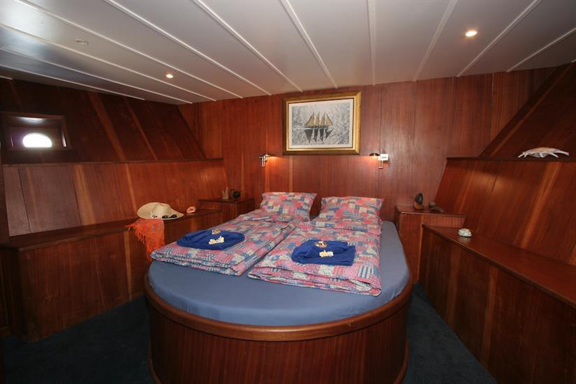 Sea Star Liveaboard - Honeymoon double cabin