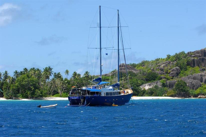 Seychelles itineraries - Sea Bird Liveaboard