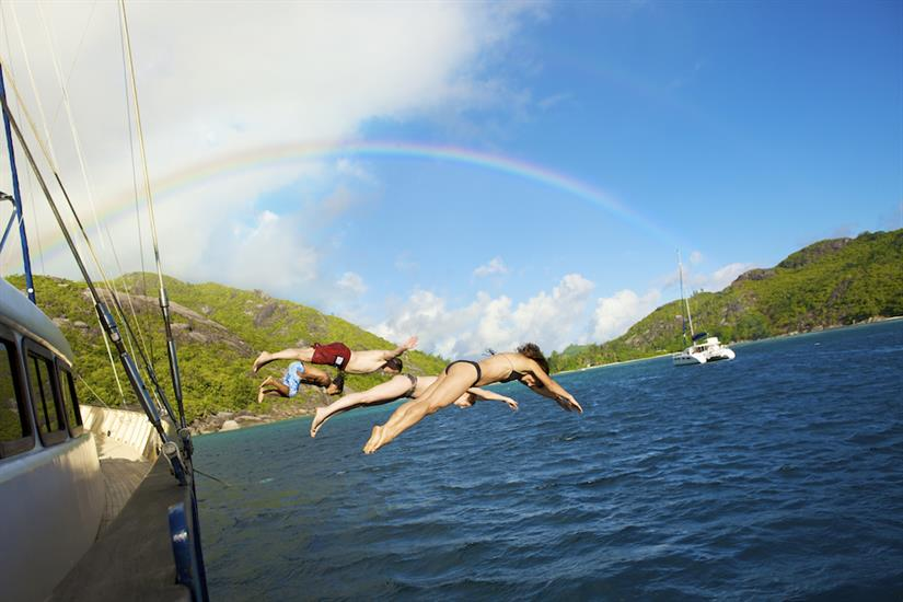 Dive in to the waters of the Seychelles