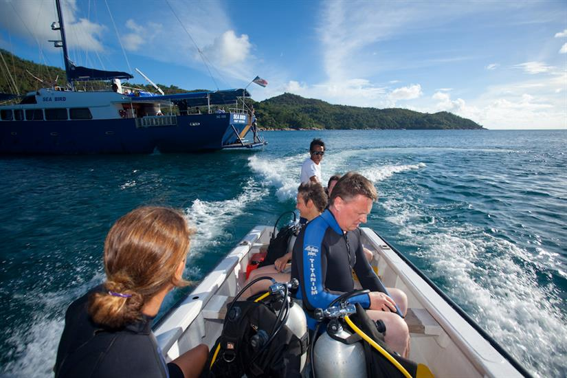 Divers being taken to dive sites - Sea Bird Liveaboard