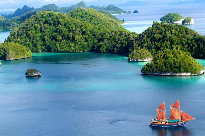 Stunning Raja Ampat scenery