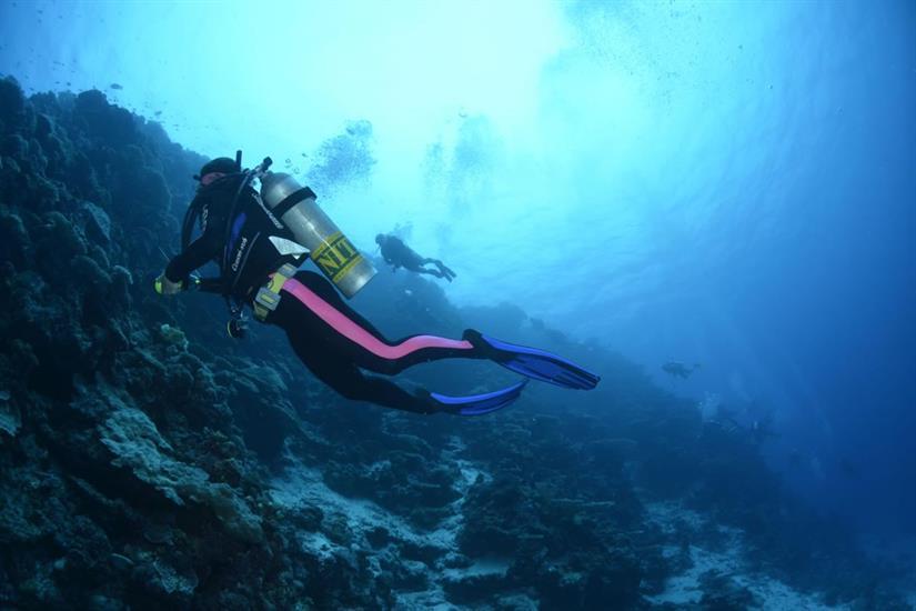 Incredible Walls - Maldives Diving