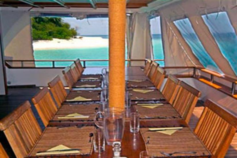 Dining with a view- Ocean Divine