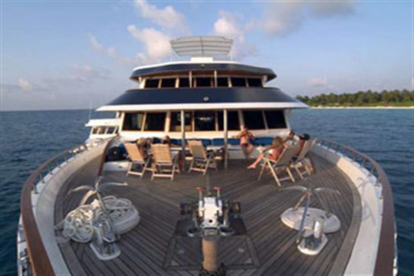 Lounge Deck - Ocean Divine