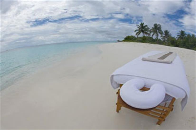 Relaxation in the Maldives