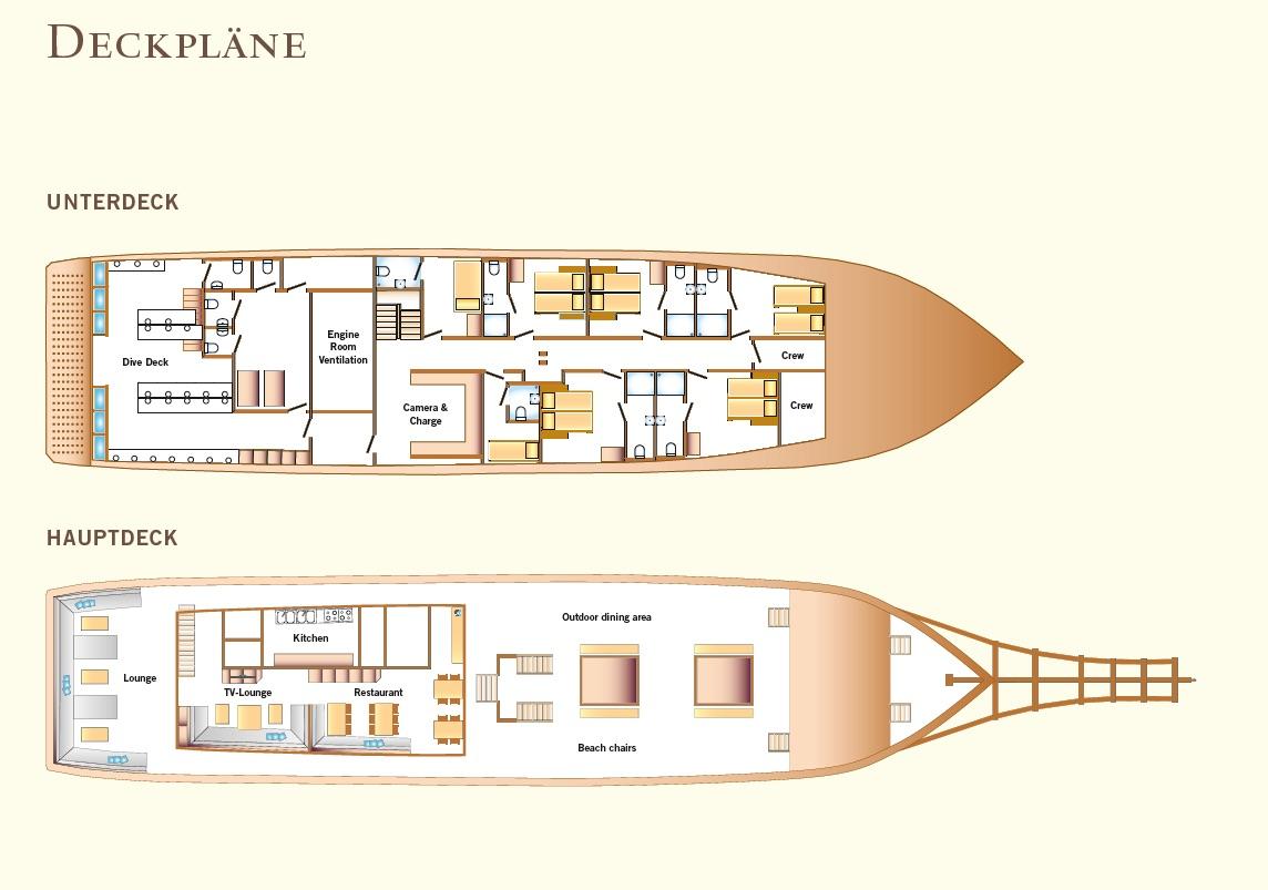 Amira Deck Plan Grundriss