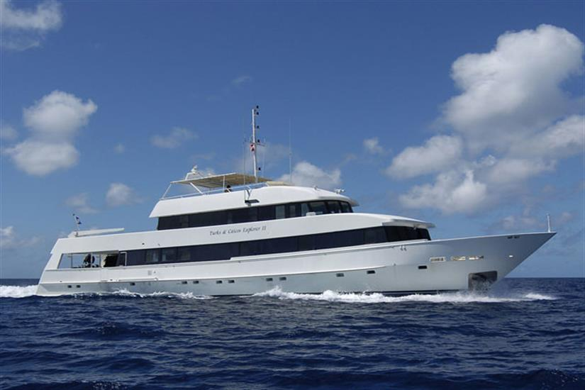 Turks and Caicos Explorer II at sea