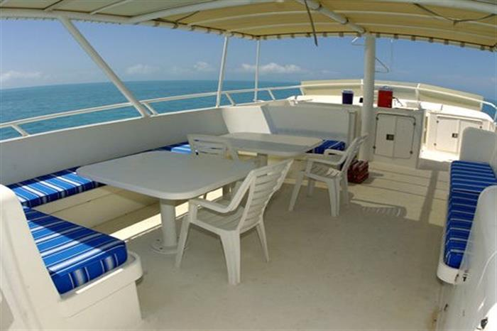Area to relax Turks and Caicos Explorer II