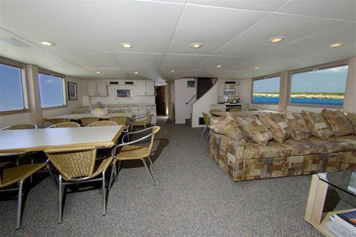Main Salon Turks and Caicos Explorer II