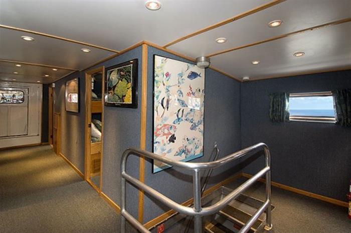 Interior onboard Caribbean Explorer II