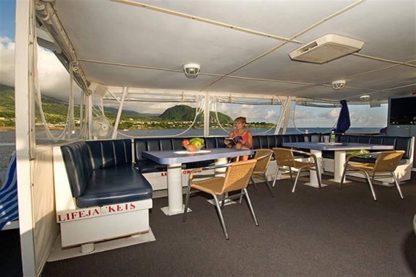 Relaxation areas on Caribbean Explorer II