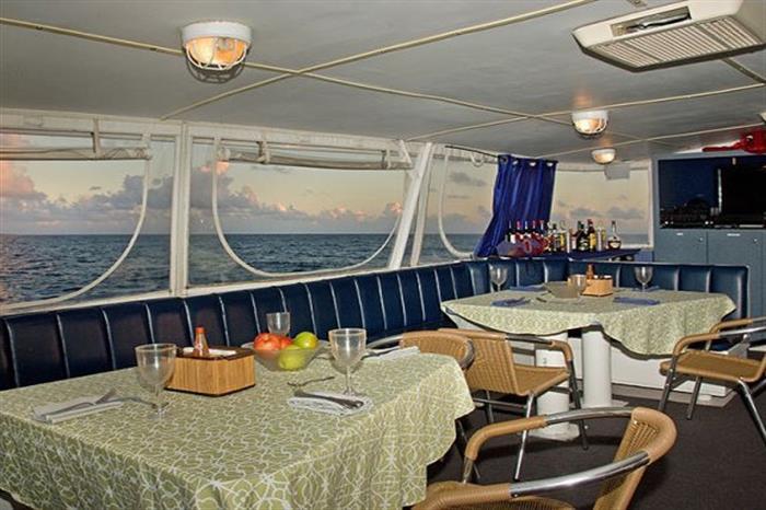 Caribbean Explorer II Dining Area