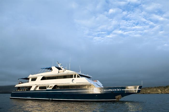 Explore the Galapagos Islands onboard Galapagos Sky