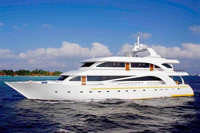 Princess Dhonkamana in the Maldives