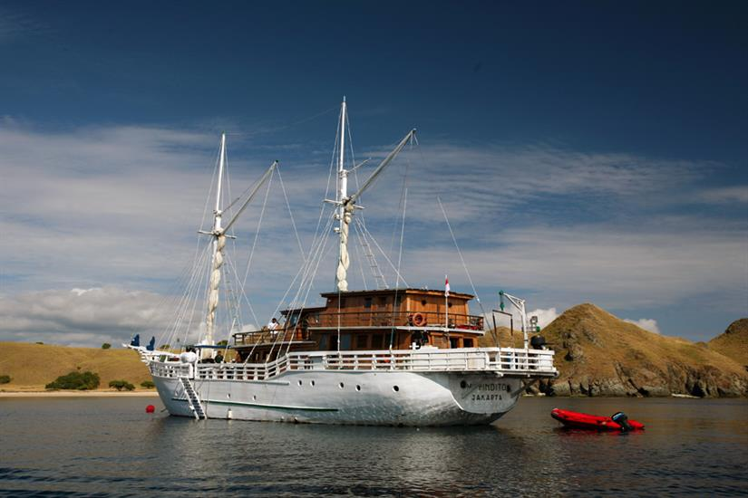 Traditional Phinisi - Pindito Liveaboard