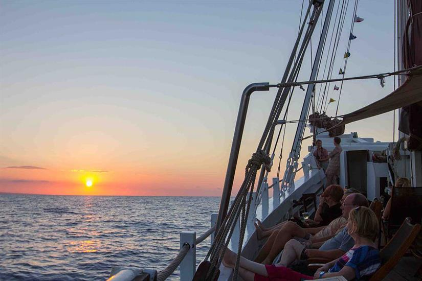 Amazing Indonesian sunsets onboard Katharina Liveaboard