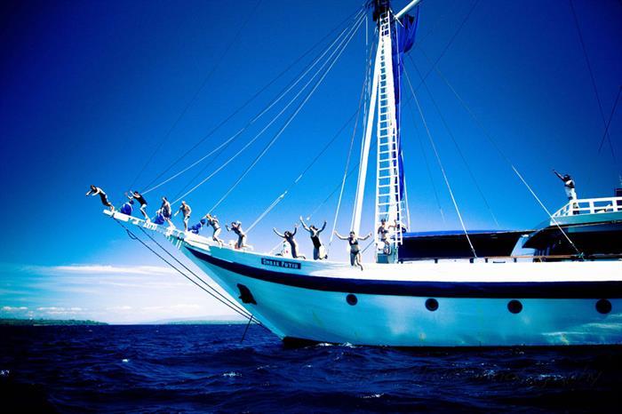 Adventure and exploration await onboard Ombak Putih