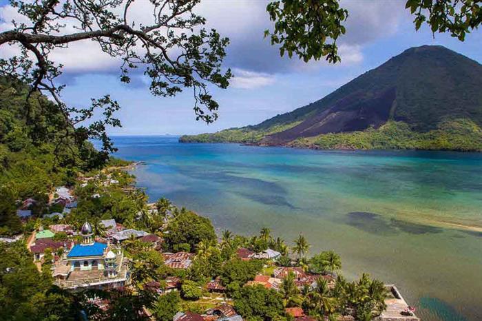 Amazing Indonesian Archipelago scenery