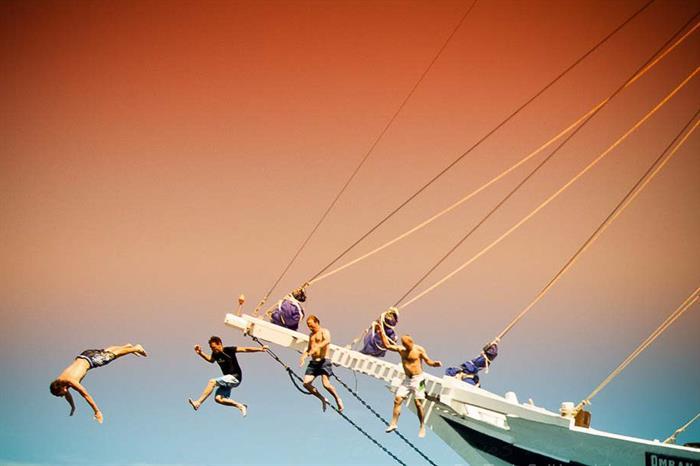 Fun onboard Ombak Putih