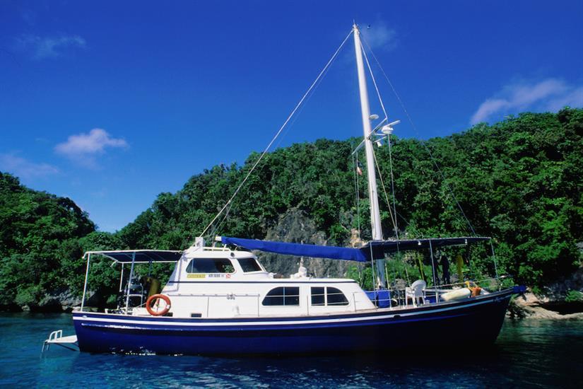 Ocean Hunter 1 in Palau, Micronesia