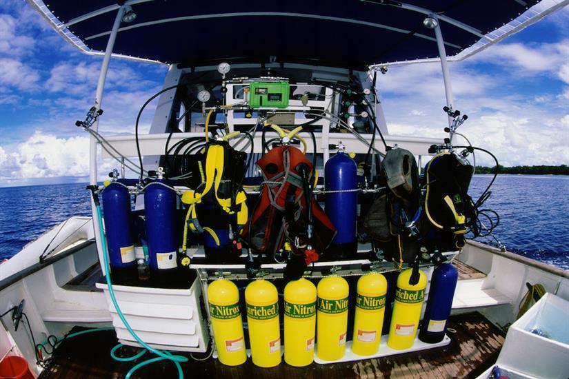 Ocean Hunter 1 - Dive Deck area