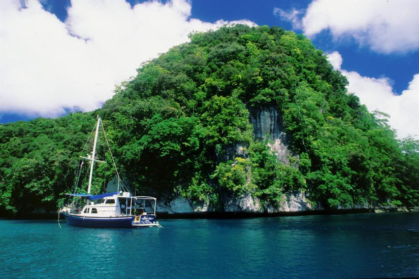 Stunning scenery and diving in Palau - Ocean Hunter 1