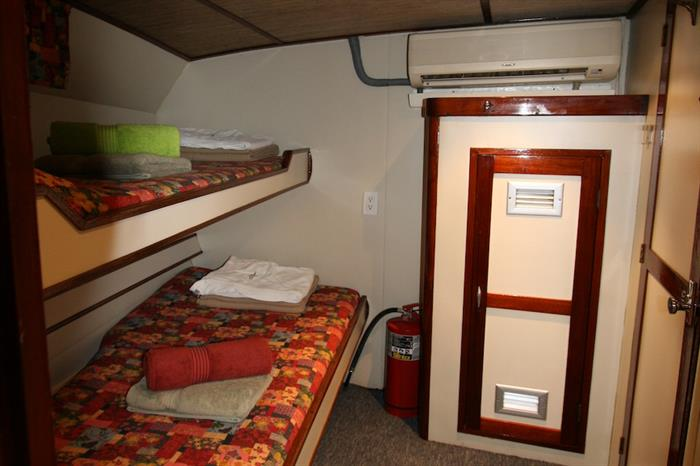Cabin 2 on Ocean Hunter 1