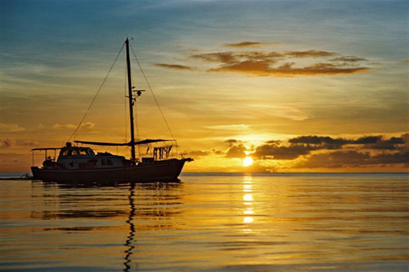 Spectacular setting in Palau - Ocean Hunter 1