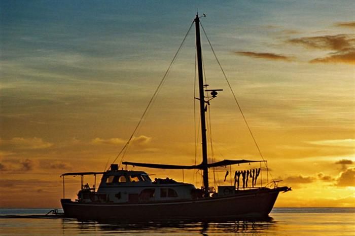 Amazing Palauan sunsets - Ocean Hunter 1
