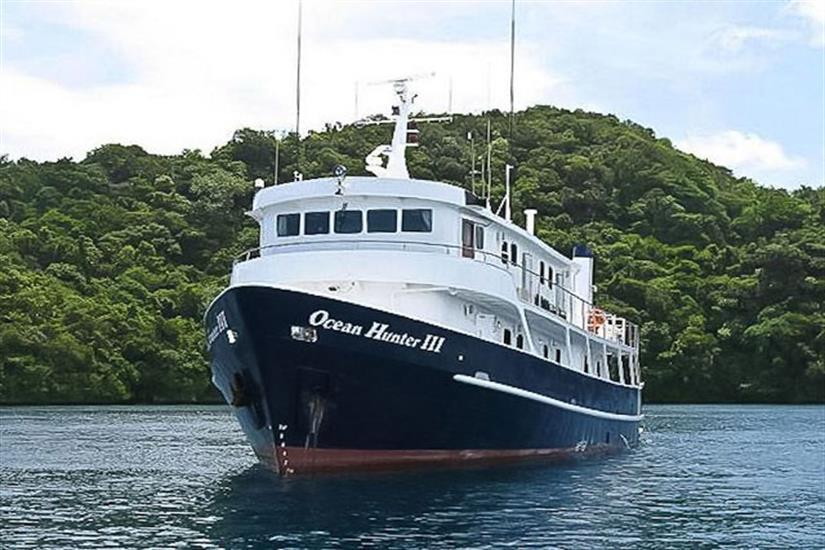 Ocean Hunter 3 in Palau, Micronesia