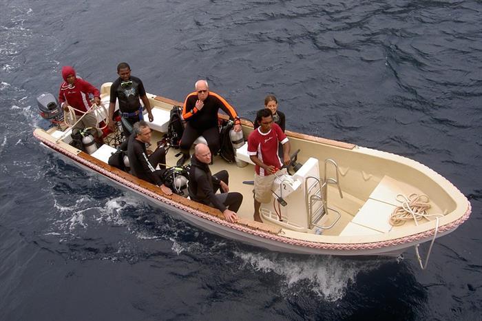 Seven Seas Dive Tender