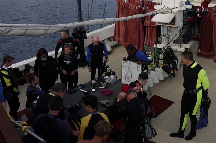 Dive Deck - Seven Seas Indonesia