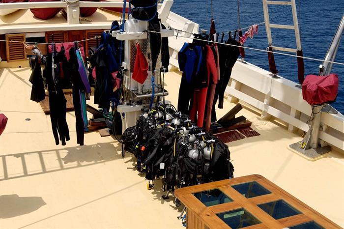 Spacious Dive Deck - Seven Seas