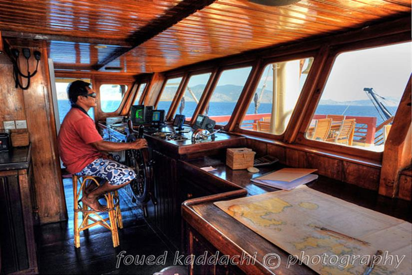Captains Bridge - Seven Seas Indonesia