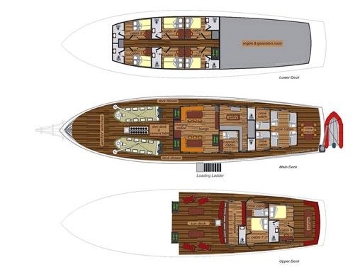 Seven Seas Grundriss
