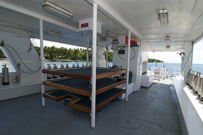 Atlantis Azores - Dive deck