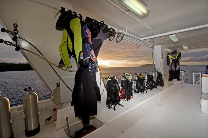 Dive Deck area - Atlantis Azores