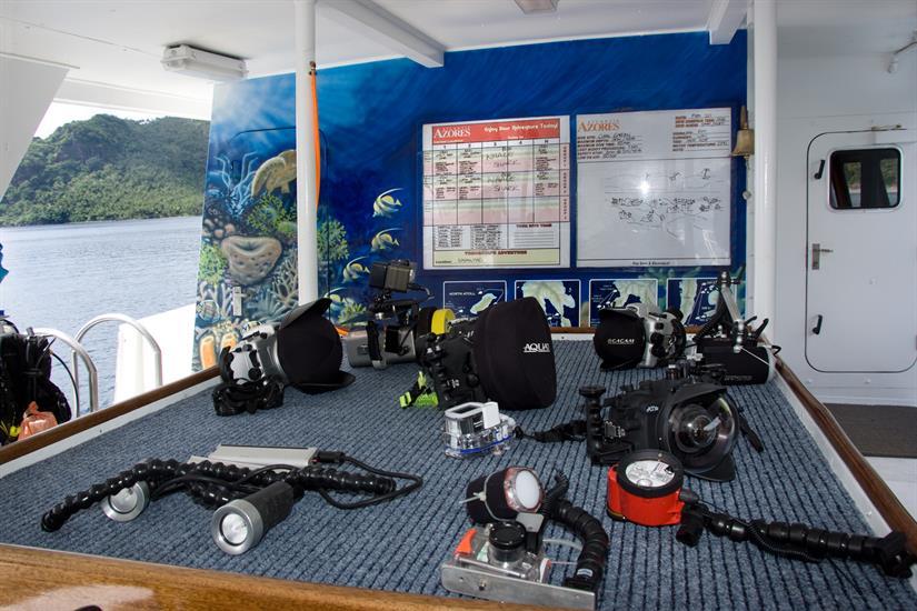Camera table - Atlantis Azores