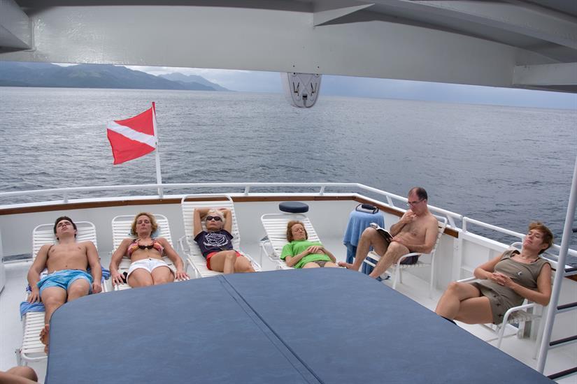Relax on the sun deck - Atlantis Azores