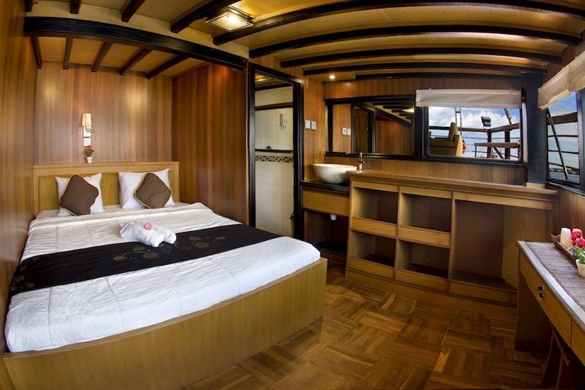 Upper deck cabin - Cheng Ho