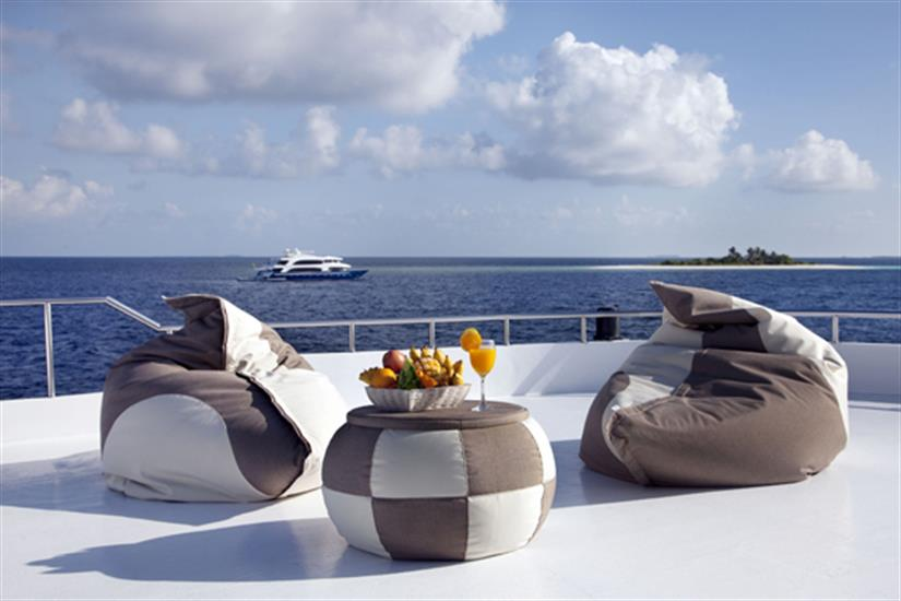Space to relax and enjoy the views