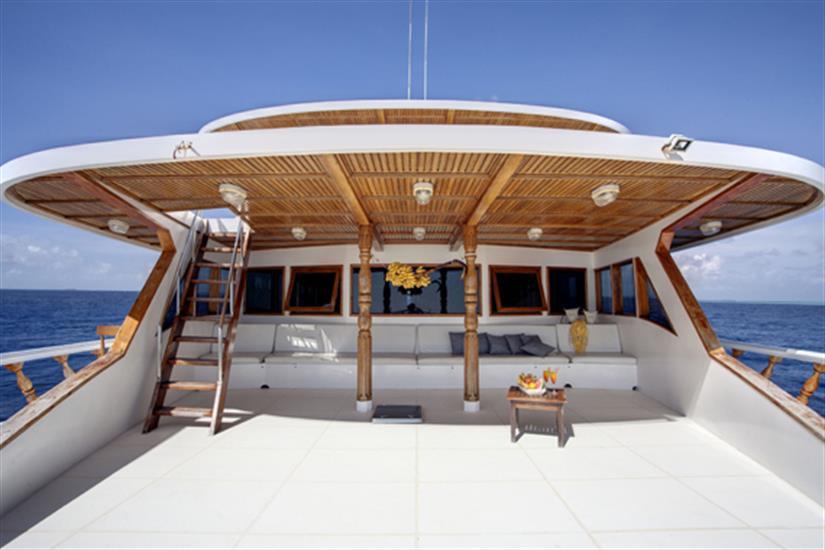 Upper deck area - Conte Max