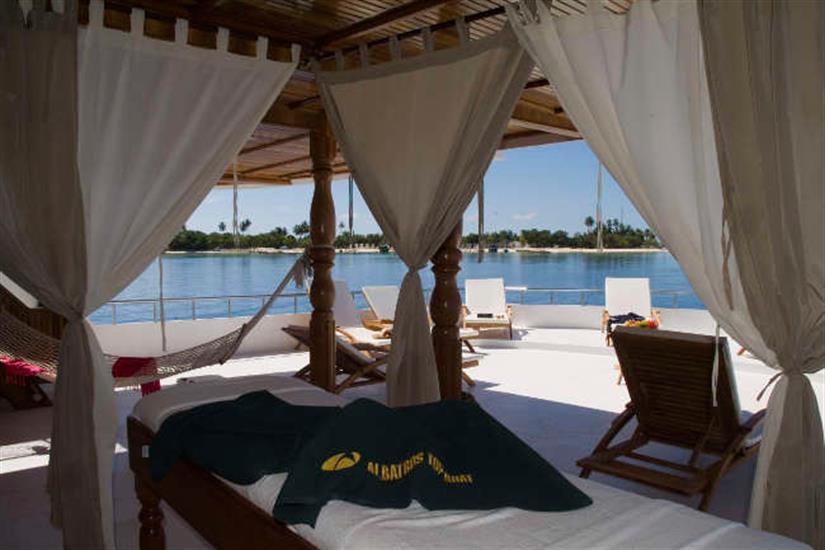 Conte Max on-board ayurvedic spa
