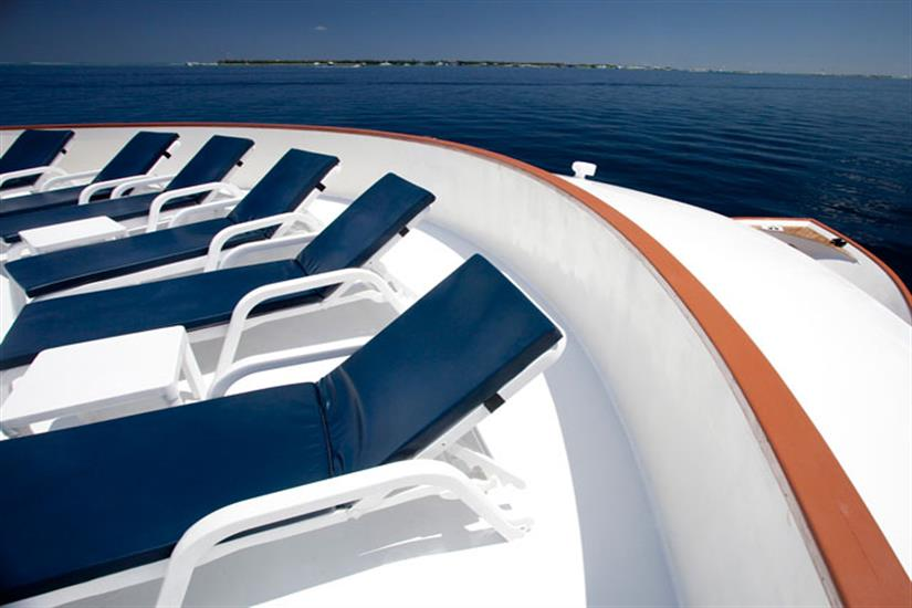 Sun Deck - Carpe Diem Liveaboard