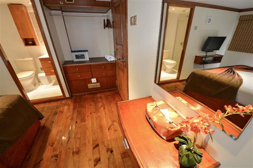 Spacious Cabins - Carpe Diem Liveaboard