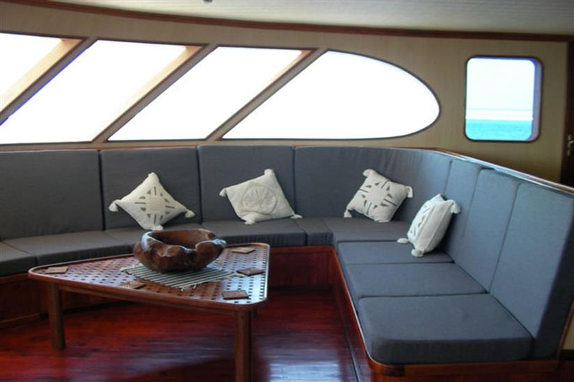 Lounge area - Carpe Diem Liveaboard