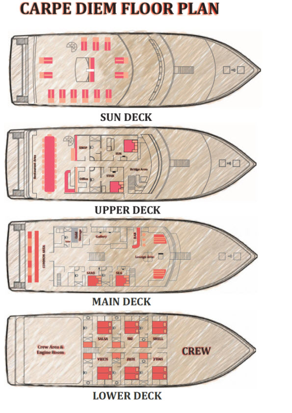 Carpe Diem floorplan