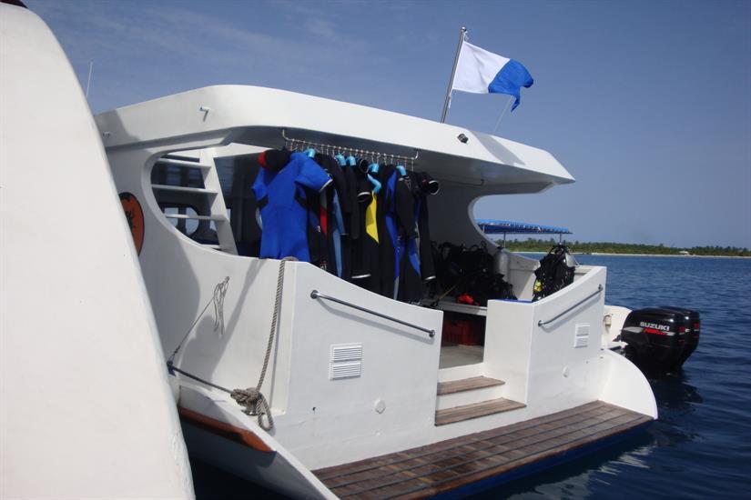 Diving Dhoni - Carpe Diem Liveaboard