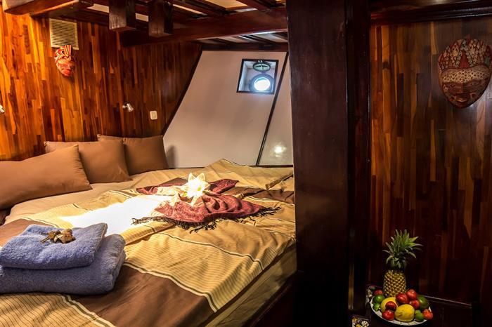 Cabin nr.1 (Double) - Euphoria Liveaboard