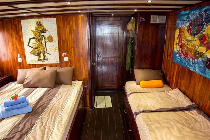 Cabin nr.8 (Master Cabin) - Euphoria Liveaboard